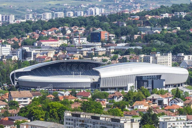Cidade de Cluj-Napoca fotografia de stock