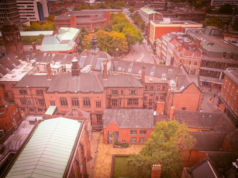 Cidade de Coventry fotos de stock royalty free