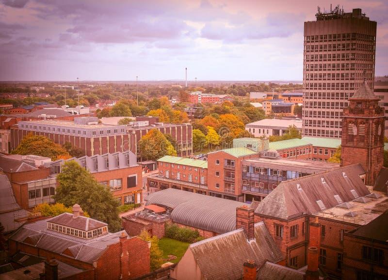 Cidade de Coventry imagem de stock royalty free