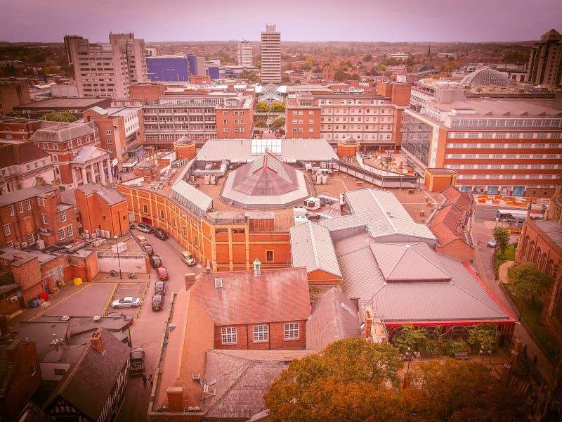 Cidade de Coventry fotografia de stock royalty free