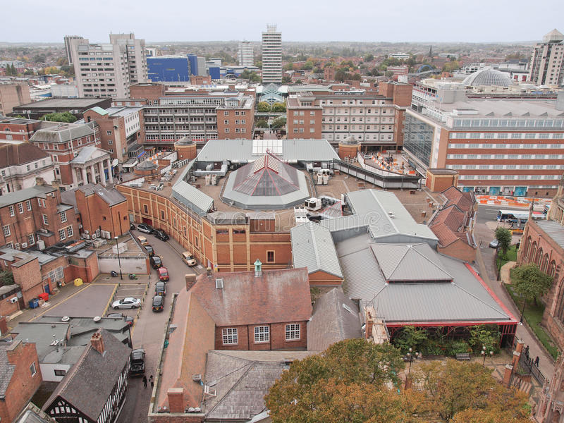 Cidade de Coventry foto de stock