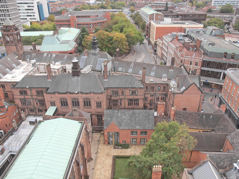 Cidade de Coventry imagens de stock
