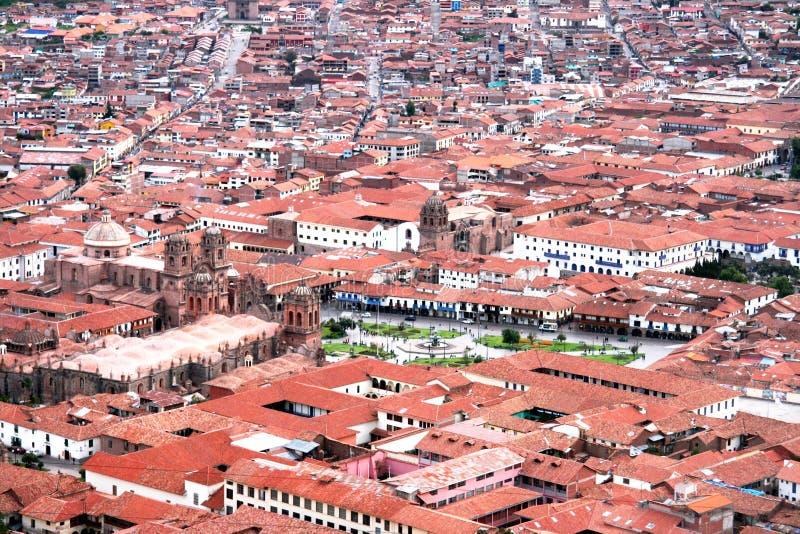 Cidade de Cuzco foto de stock