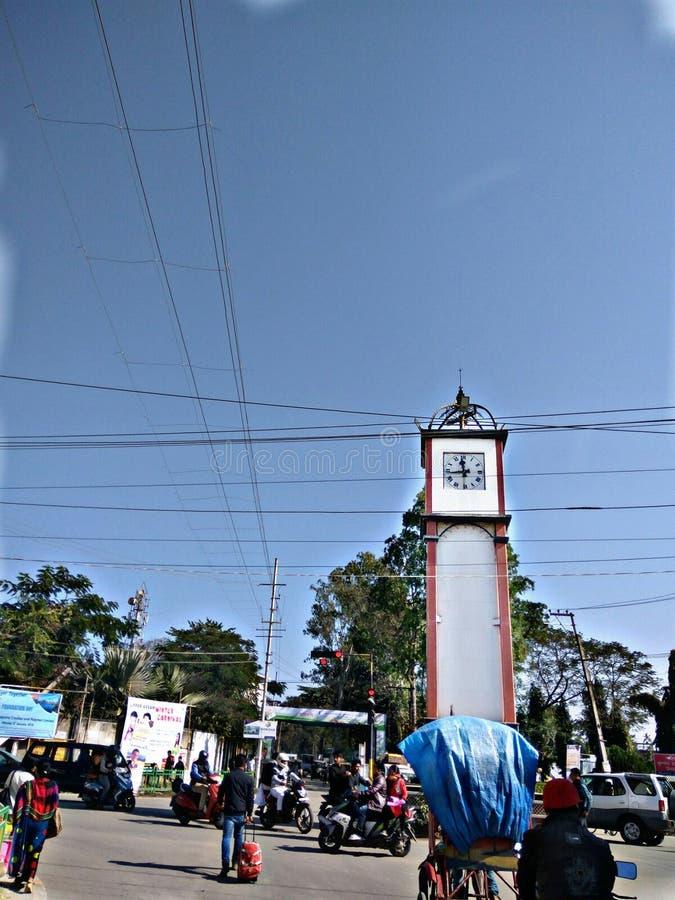 Cidade de Dibrugarh imagens de stock