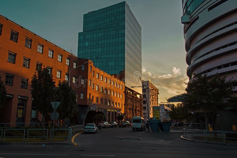 Cidade de Dnepr imagem de stock royalty free