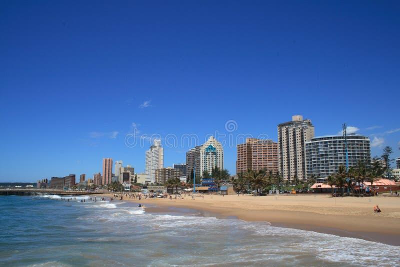 Cidade de Durban fotos de stock royalty free