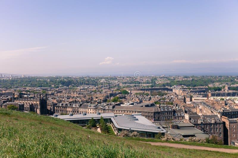Cidade de Edimburgo, Escócia imagens de stock