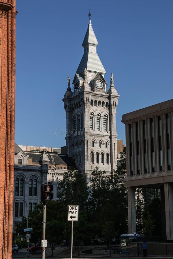 Cidade de Erie e condado Hall Buffalo imagens de stock royalty free