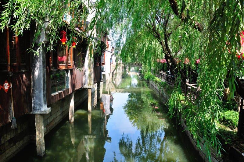 Cidade de Fengjing imagens de stock