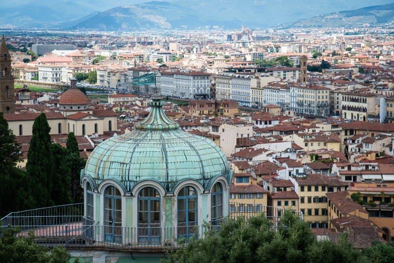 Cidade de Florença imagem de stock