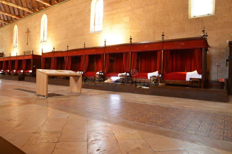 Cidade de França, velha e pitoresca de Beaune imagens de stock royalty free