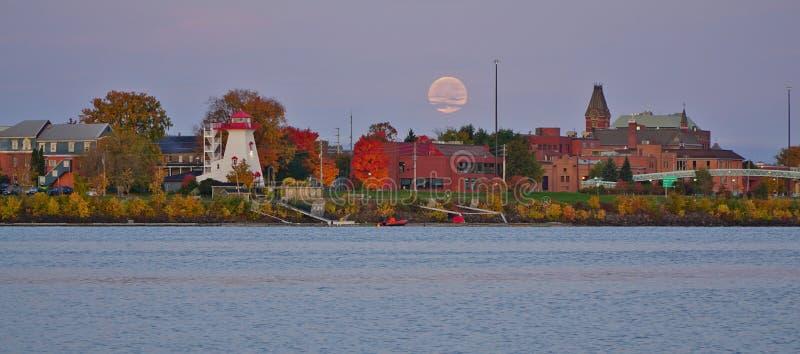 Cidade de Fredericton, Canadá fotos de stock royalty free
