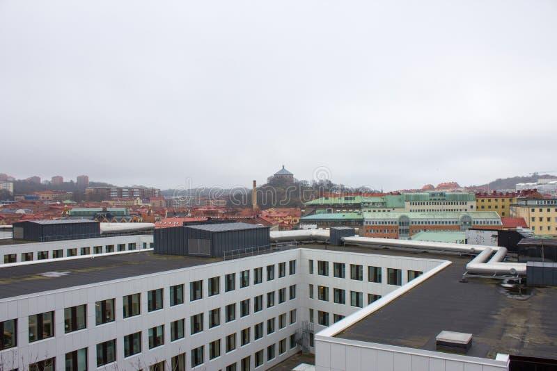 A cidade de Gothenburg na Suécia foto de stock royalty free