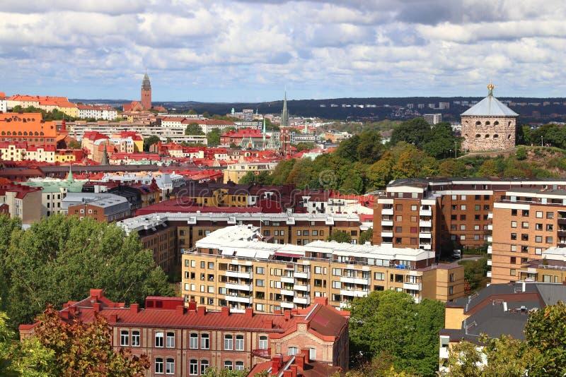 Cidade de Gothenburg, Suécia imagem de stock