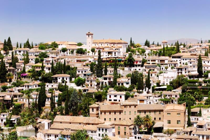 Cidade de Granada, Spain imagens de stock royalty free