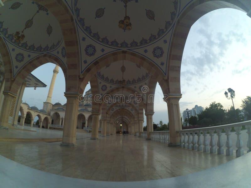 Cidade de Grozny em Chechnya fotografia de stock