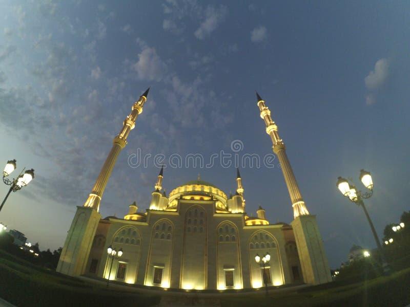 Cidade de Grozny em Chechnya fotos de stock