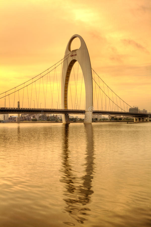 Cidade de Guang Zhou, China fotografia de stock