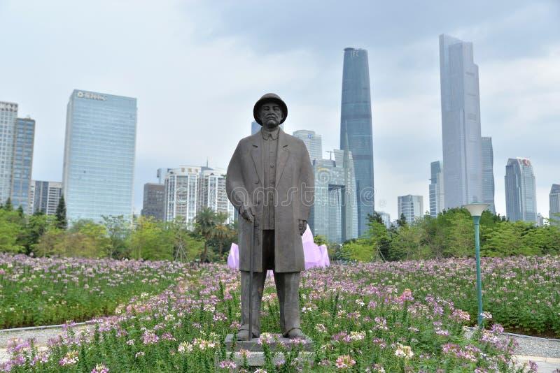 Cidade de Guangzhou foto de stock