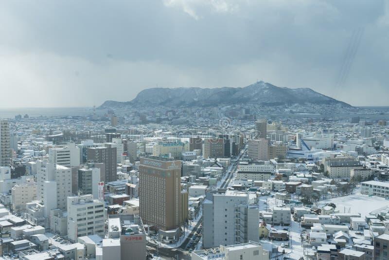Cidade de Hakodate imagem de stock royalty free