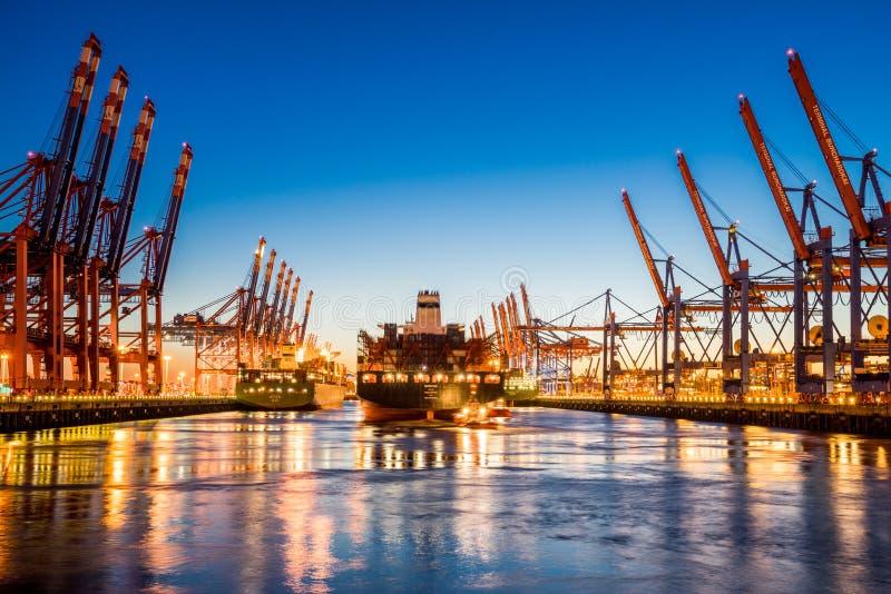 Cidade de Hamburgo, Alemanha imagens de stock royalty free