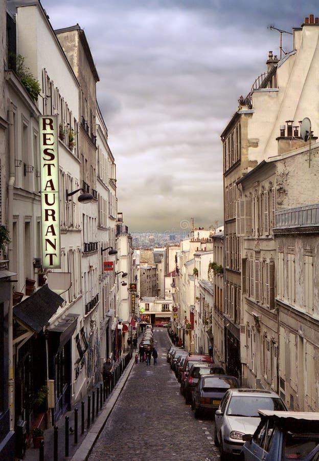 Cidade de histórias por dizer imagem de stock royalty free