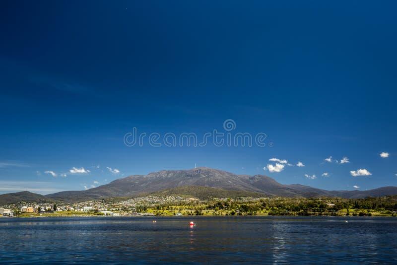 Cidade de Hobart fotos de stock