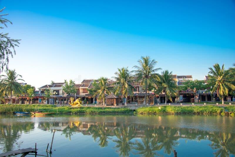 A cidade de Hoi An imagens de stock royalty free