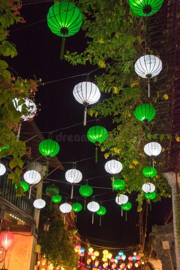 A cidade de Hoi An fotos de stock