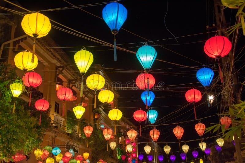 A cidade de Hoi An foto de stock