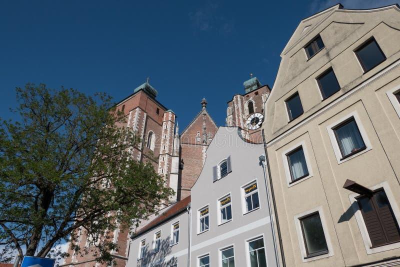 A cidade de ingolstadt em Alemanha fotos de stock royalty free