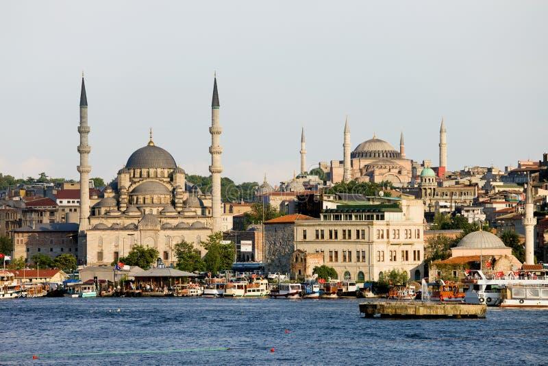 Cidade de Istambul fotografia de stock royalty free