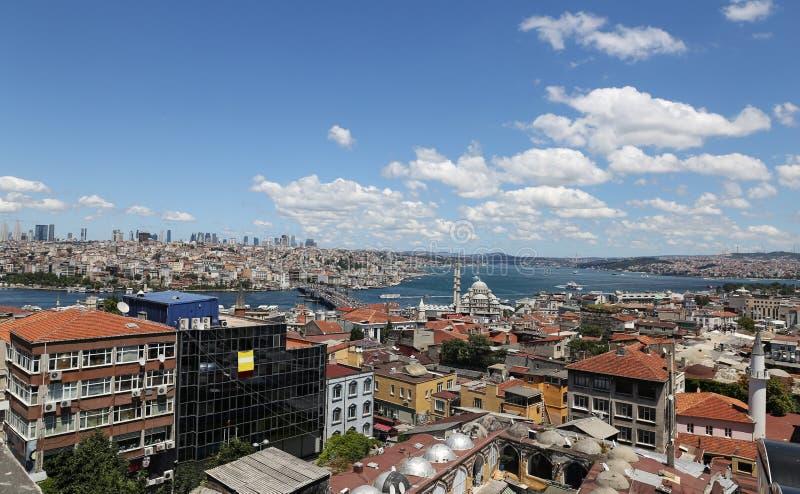 Cidade de Istambul em Turquia foto de stock