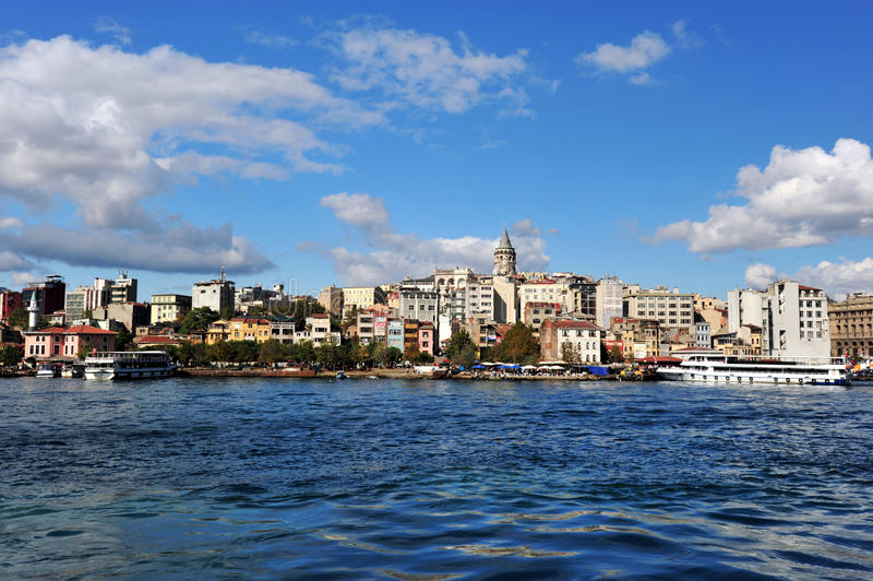 Cidade de Istambul, Turquia fotos de stock