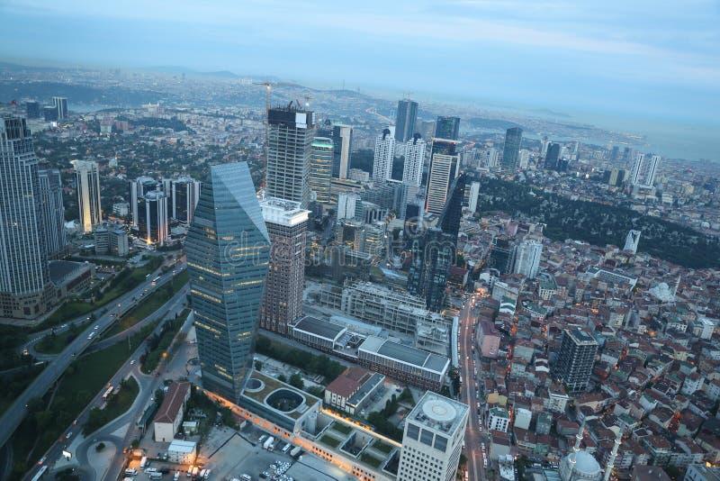 Cidade de Istambul, Turquia foto de stock royalty free
