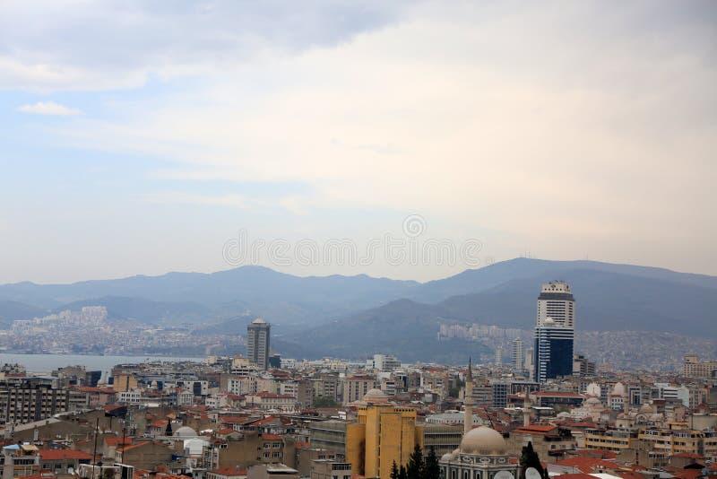 cidade de Izmir fotografia de stock
