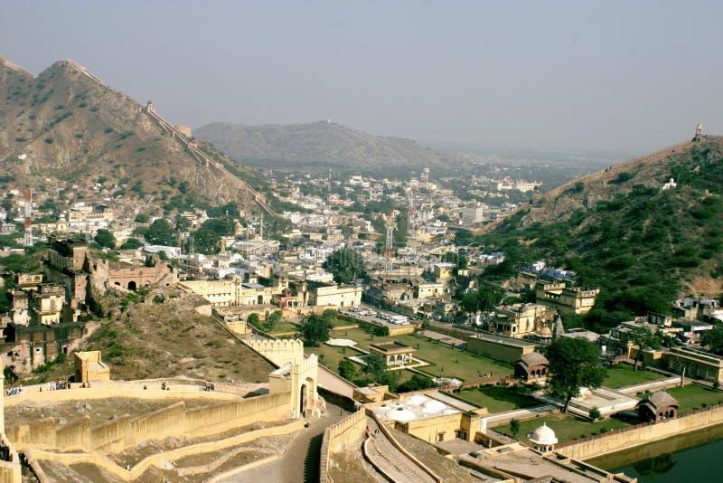 Cidade de Jaipur foto de stock