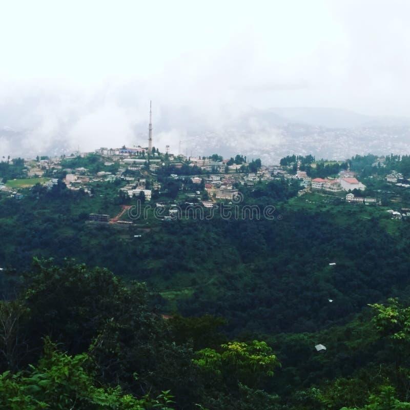Cidade de Kohima fotografia de stock