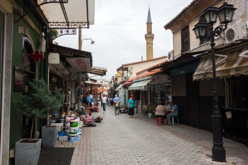 Cidade de Komotini - Grécia imagens de stock