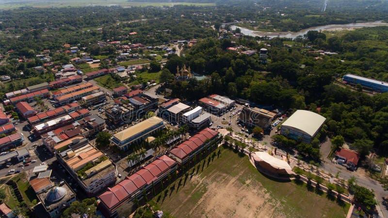 Cidade de Kota Belud, Sabah foto de stock royalty free