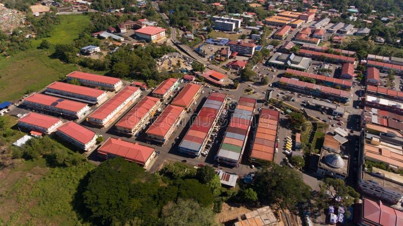 Cidade de Kota Belud, Sabah imagens de stock royalty free