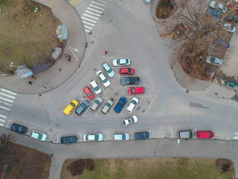 A cidade de Kragujevac fotografia de stock