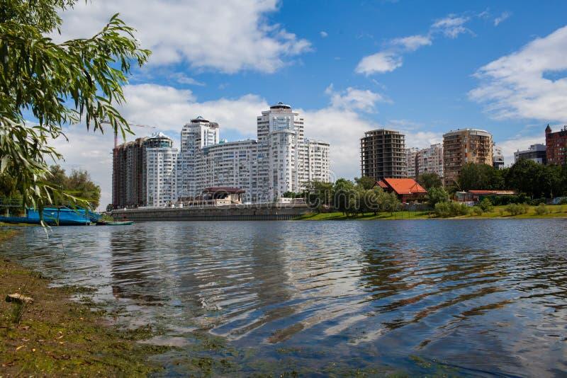 Cidade de Krasnodar foto de stock royalty free
