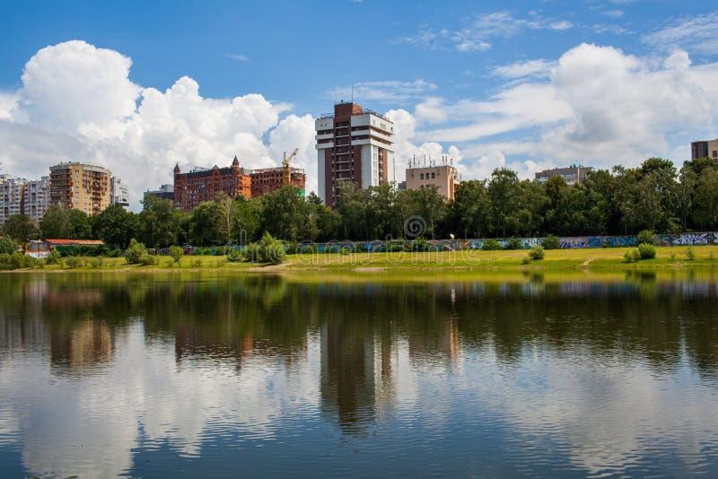 Cidade de Krasnodar imagens de stock