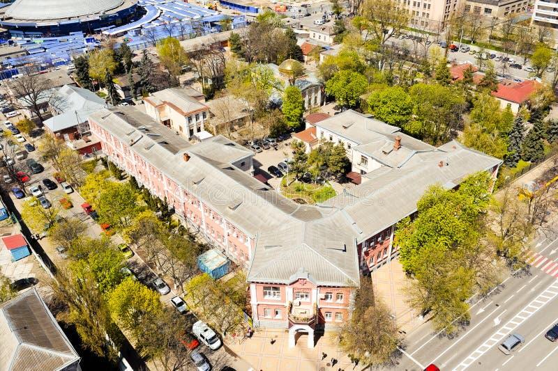 Cidade de Krasnodar, Rússia imagem de stock royalty free