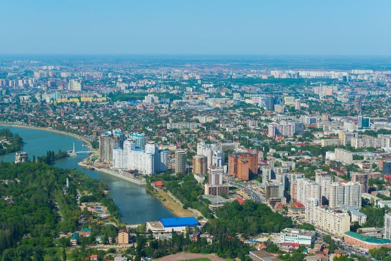 Cidade de Krasnodar, Rússia fotografia de stock royalty free