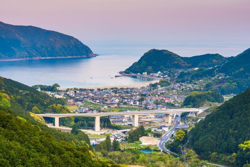 Cidade de Kumano, Mie Prefecture, Japão foto de stock royalty free