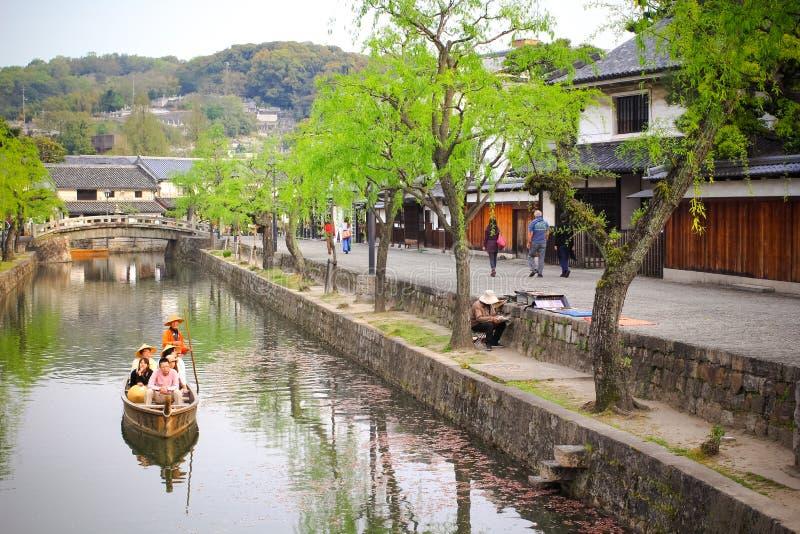 Cidade de Kurashiki foto de stock royalty free