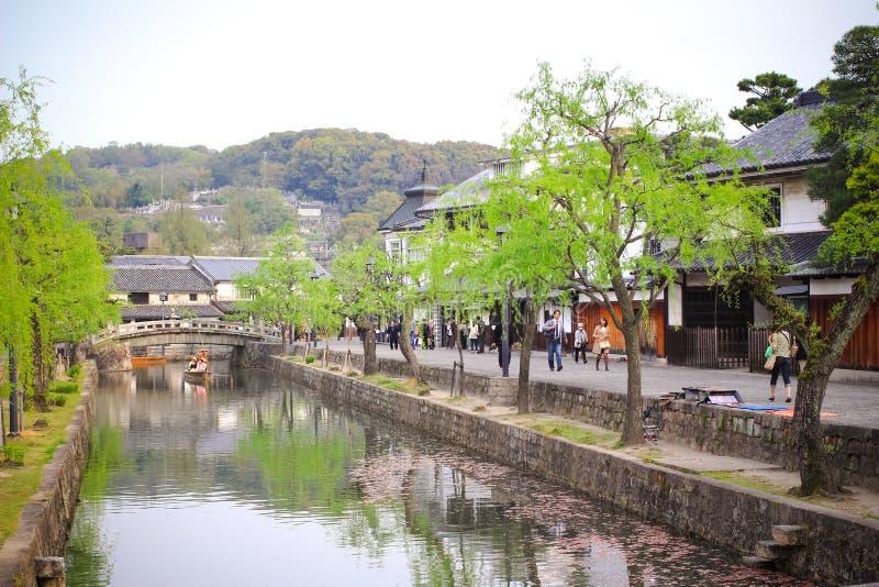 Cidade de Kurashiki imagem de stock royalty free