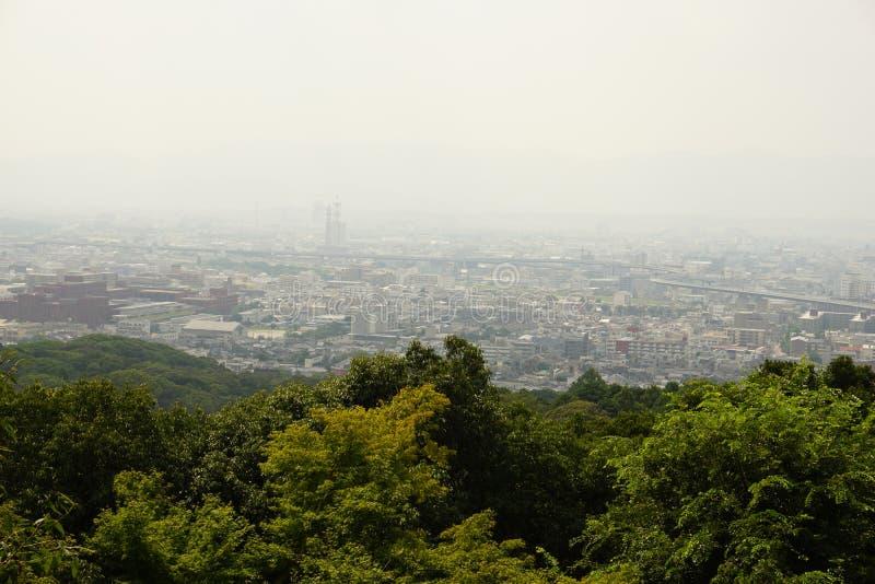 Cidade de Kyoto imagem de stock